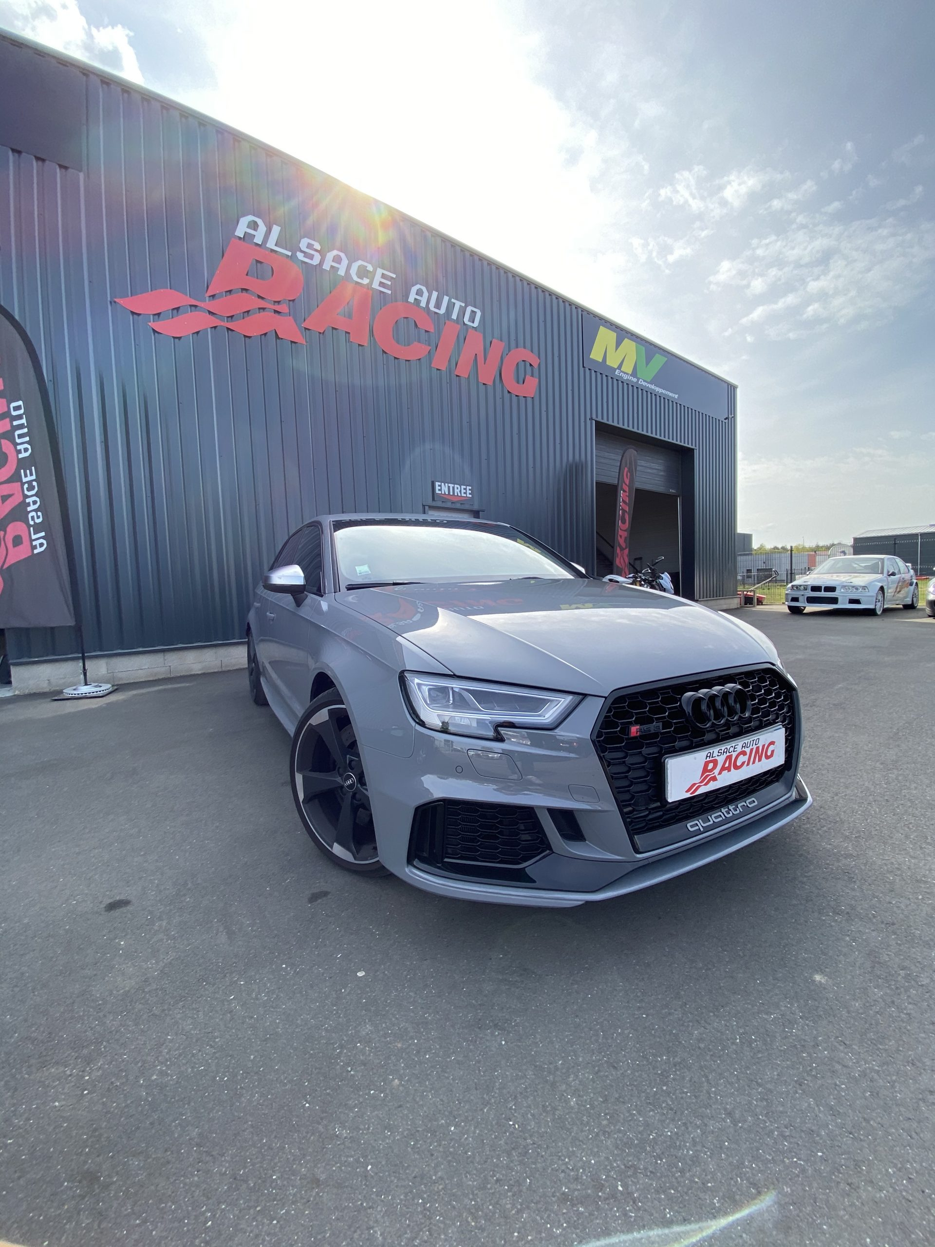 Audi RS3 400 Multimap Reprogrammation Alsace Auto Racing