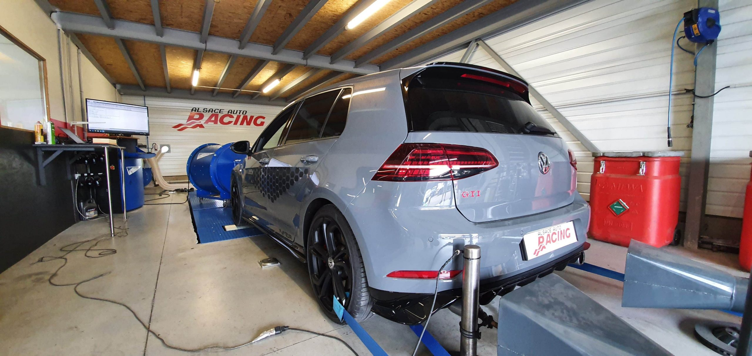 VW Golf 7 GTI TCR Stage 1 APR Reprogrammation Alsace Auto Racing