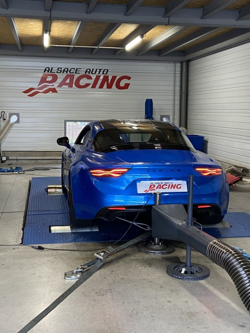 Alpine A110s reprogrammation Stage 2 Alsace Auto Racing