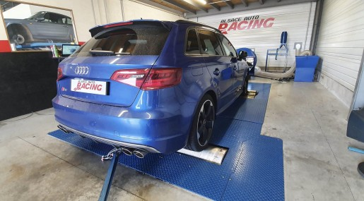 Audi S3 8V Stage 1 APR Reprogrammation Alsace Auto Racing